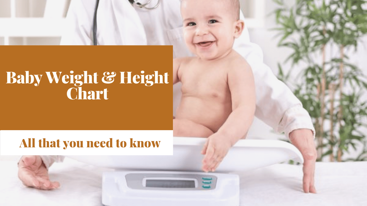Baby weight and height chart -Trainyourtot