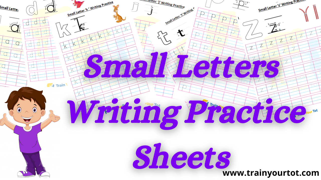 small letter writing practice sheets
